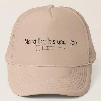 Boné A mistura como ela é seu chapéu do camionista do