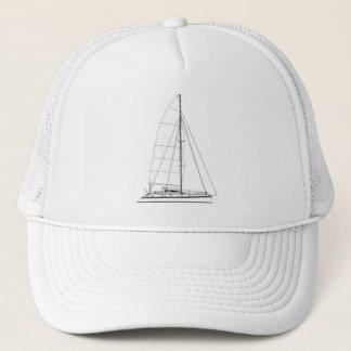 Boné A navigação náutica inspirou o catamarã de