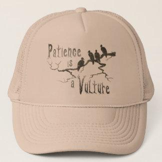 Boné A paciência é um abutre