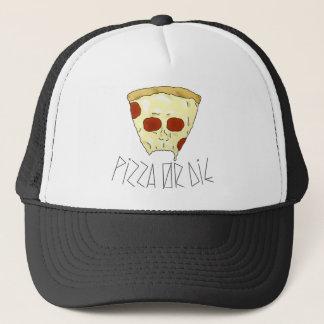 Boné A pizza ou morre