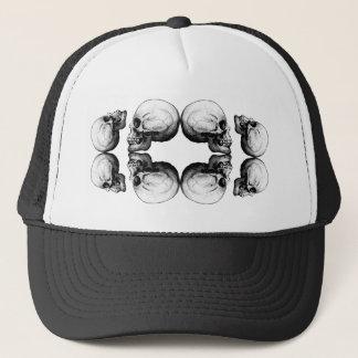Boné A proteção do crânio do Dia das Bruxas desossa o