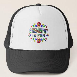 Boné A química é divertimento