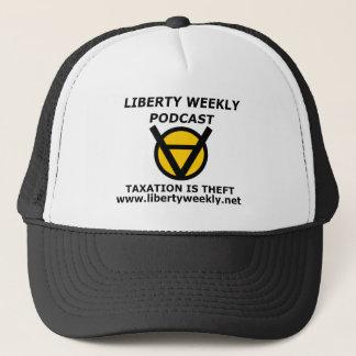 Boné A tributação semanal da liberdade oficial é chapéu