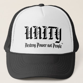 Boné A UNIDADE do chapéu, destrói pessoas do poder não
