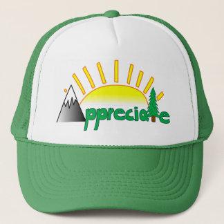 Boné A velha escola aprecia o chapéu