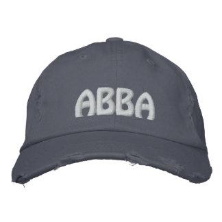 """Boné ABBA - Palavra aramaica para o """"pai. """""""
