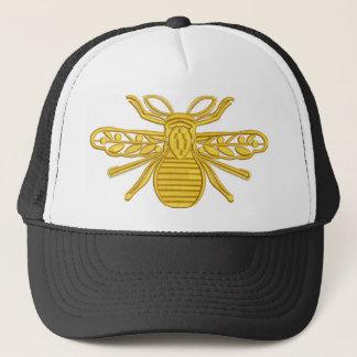 Boné abelha real, imitação do bordado
