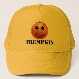 Boné Abóbora engraçada o Dia das Bruxas de Trumpkin do