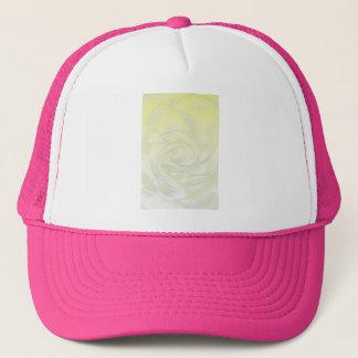 Boné Abstrato do rosa amarelo