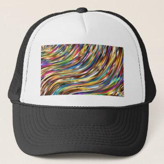Boné Abstrato ondulado