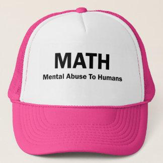Boné Abuso mental da MATEMÁTICA aos seres humanos