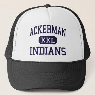 Boné Ackerman - indianos - alto - Ackerman Mississippi