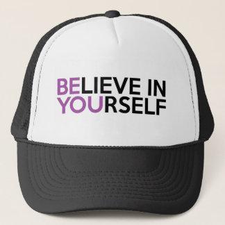 Boné Acredite em o senhor mesmo - seja você