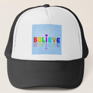 Boné Acredite o camionista-chapéu, para a venda!