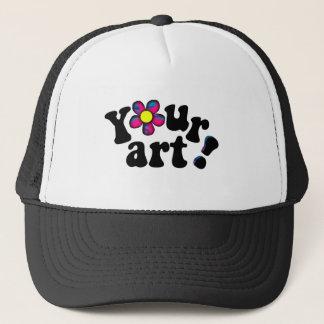 Boné Adicione seu PRÓPRIO trabalhos de arte, foto ou