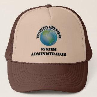 Boné Administrador de sistema do mundo o grande