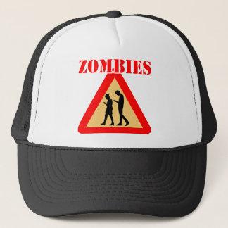 Boné Adolescentes do zombi com telemóveis