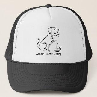 Boné Adopt não compra o chapéu do camionista do gato do