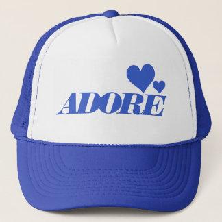 Boné Adore o chapéu