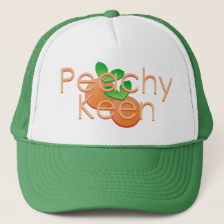 Boné Afiado Peachy com pêssegos