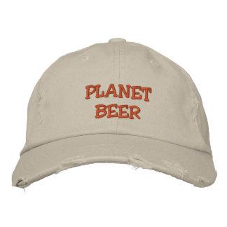 Boné afligido cerveja do planeta (pedra)