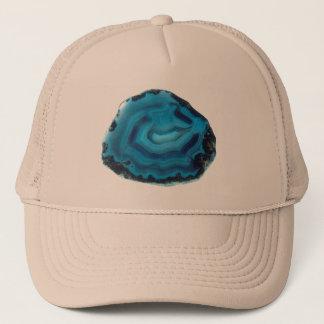 Boné Ágata azul
