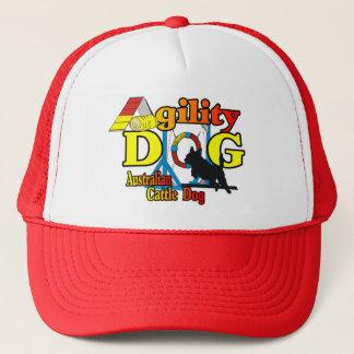 Boné Agilidade australiana do cão do gado