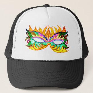Boné Aguarela da máscara do carnaval