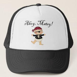 Boné Ahoy chapéu amigo do pirata do bebê