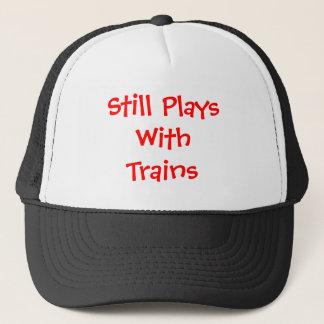 Boné Ainda jogos com trens