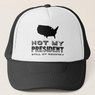 Boné Ainda meu país não meu preto do presidente América