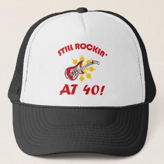 Boné Ainda Rockin em 40!
