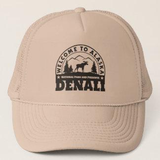 Boné Alaska. Parque nacional e conserva de Denali