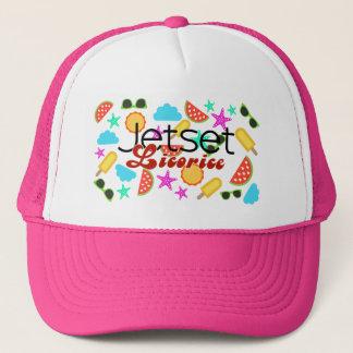 Boné Alcaçuz de Jetset > chapéu do camionista