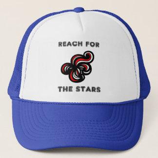 """Boné """"Alcance para chapéu do camionista das estrelas"""""""