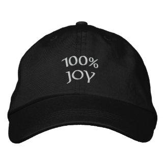 Boné alegria 100%