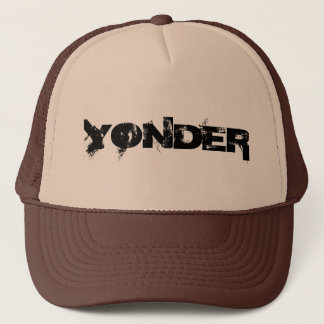 Boné ALÉM - chapéu do camionista - preto e Tan
