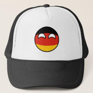 Boné Alemanha Geeky de tensão engraçada Countryball