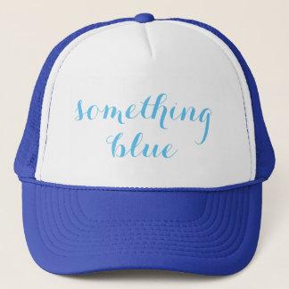 Boné Algo chapéu azul do camionista do casamento