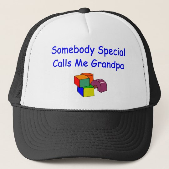 Boné Alguém chamadas especiais mim chapéu do vovô  8b5d92df065