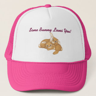 Boné Algum chapéu de basebol do coelho