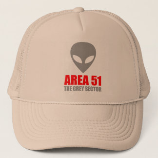 Boné Alienígena do cinza da ÁREA 51