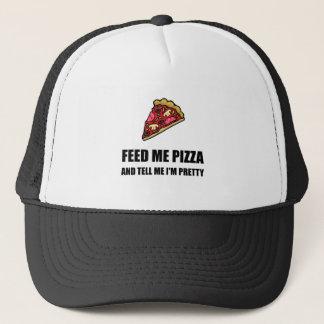 Boné Alimente-me a pizza bonito