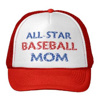 Boné All-star da mamã do basebol