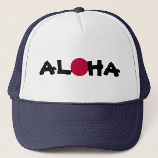 Boné Aloha bandeira japonesa de Sun de ascensão de