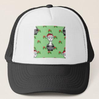 Boné alpaca do papai noel do Natal