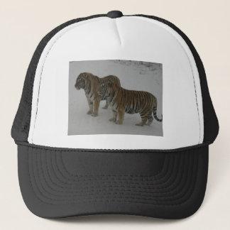 Boné Alugueres dois tigres Siberian
