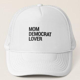 Boné Amante de Democrata da mamã