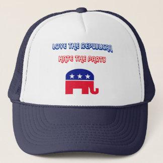 Boné Ame o republicano, deie o partido