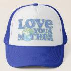 Boné Ame seu chapéu do camionista da Mãe Terra